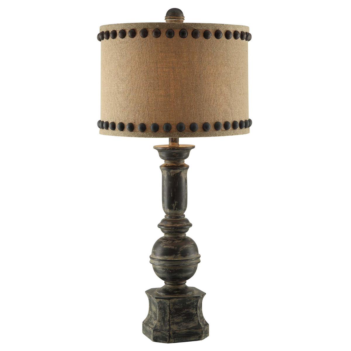 Iron Baluster Table Lamp