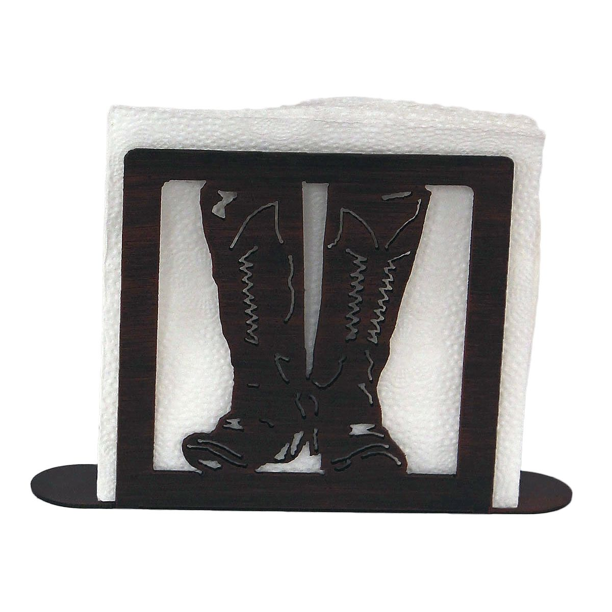 Iron Boot Napkin Holder