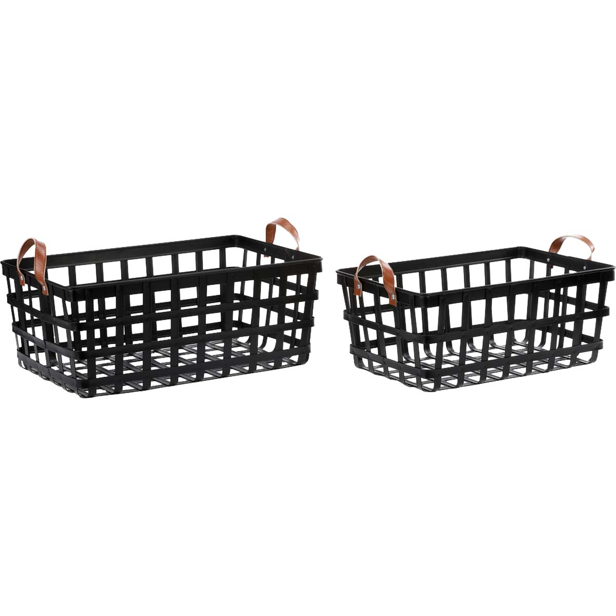 Iron Nesting Baskets - Set of 2