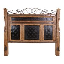Iron Scroll Bed - King