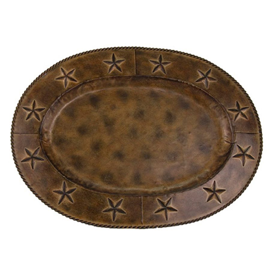 Iron Stars Large Oval Platters - Set of 4