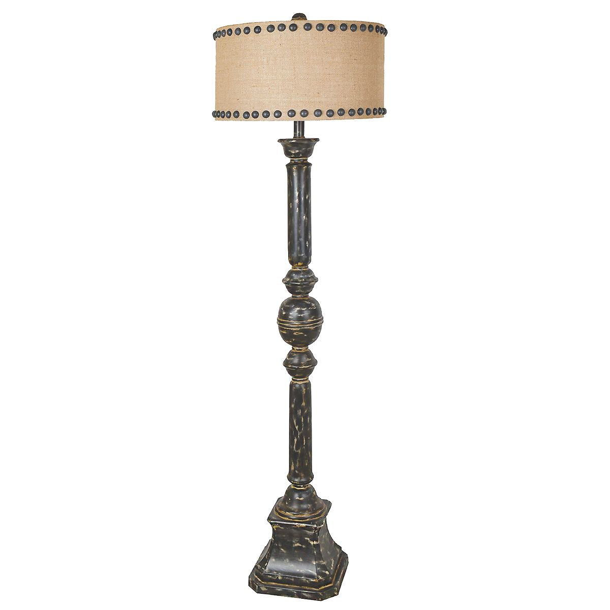 Iron Baluster Floor Lamp - OVERSTOCK