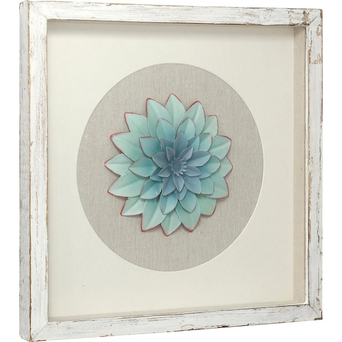 Iron Succulent Shadow Box III