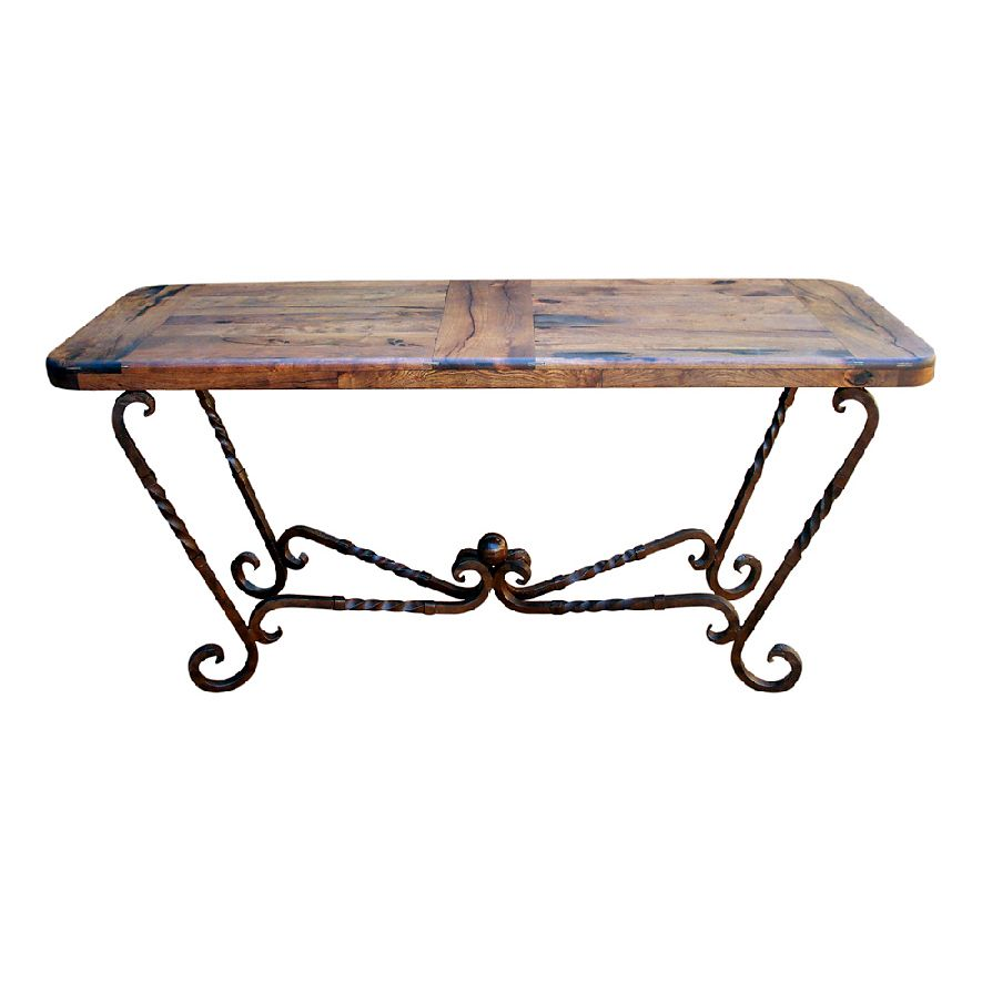 Iron Twist Large Console