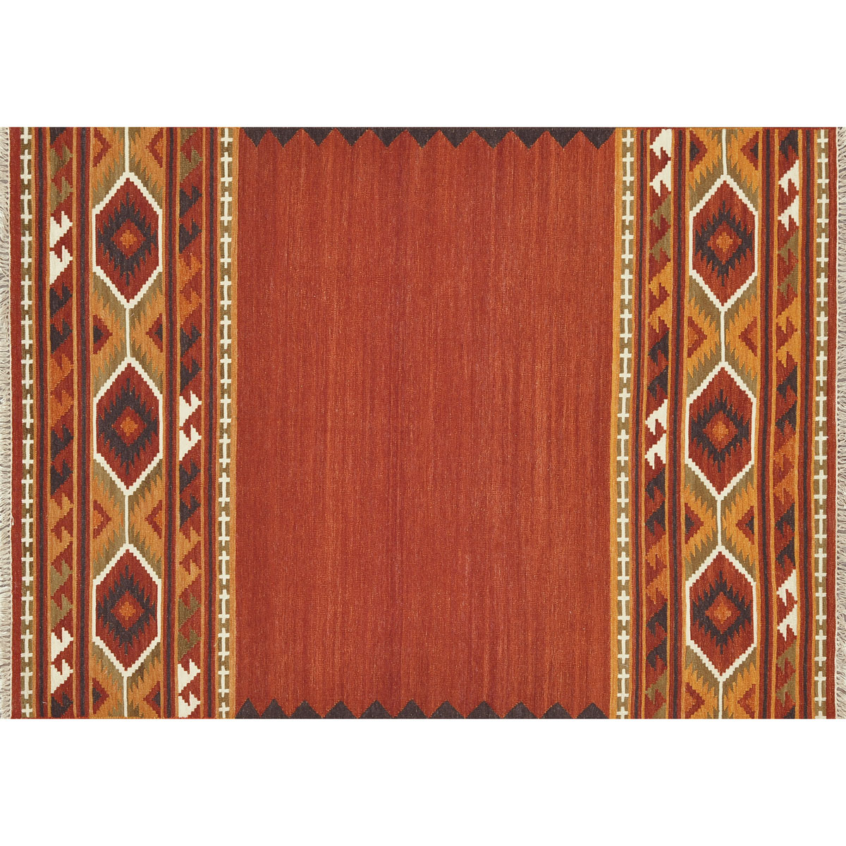 Isara Red Gold Rug - 5 x 8