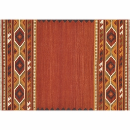 Isara Red Gold Rug Collection