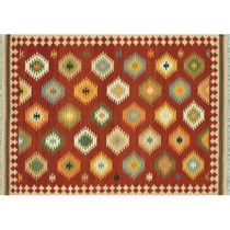 Isara Red Multi Rug - 8 x 10