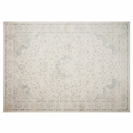 Jed Ivory & Blue Rug Collection