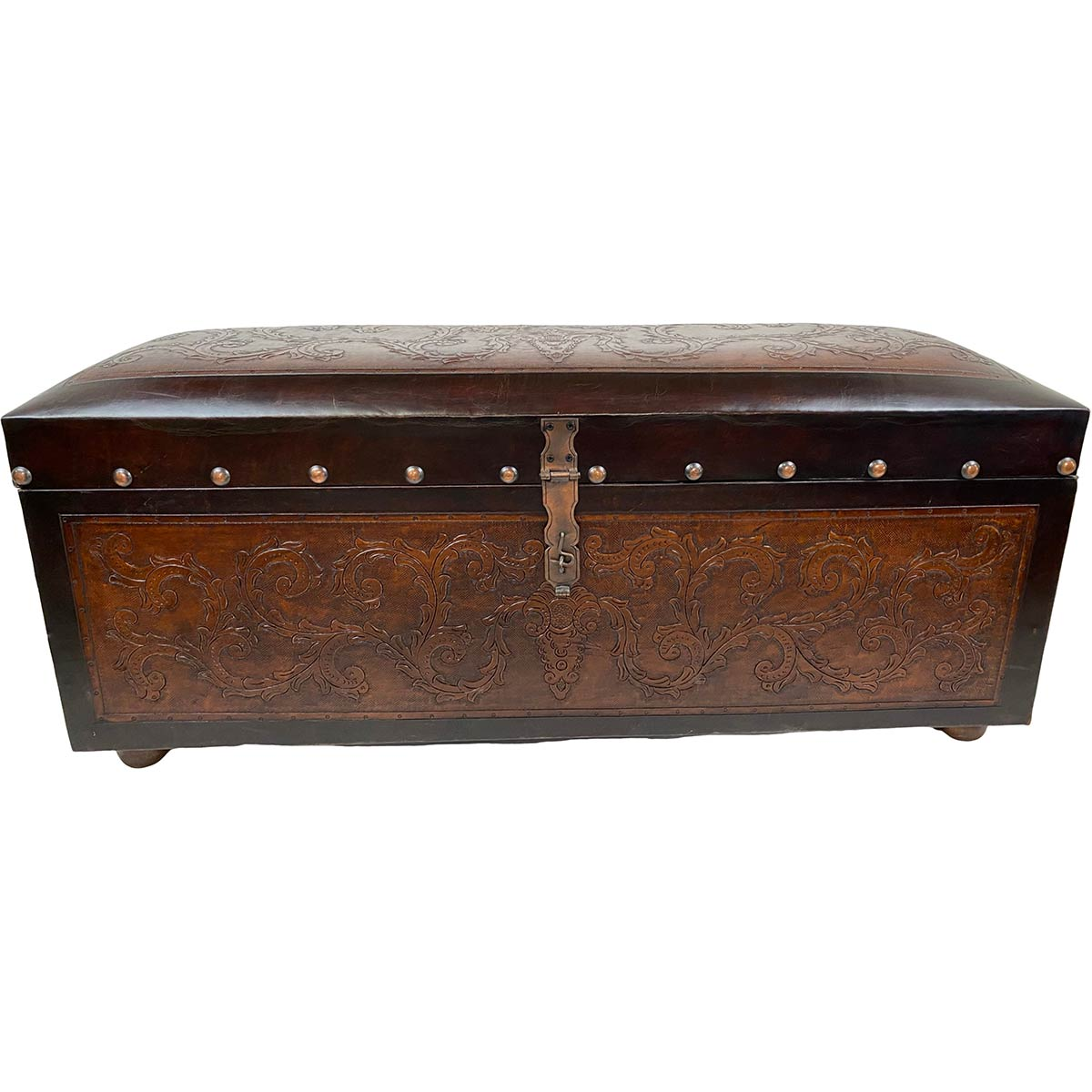 Jumbo Trunk Bench - Colonial
