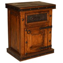 Kensington 1 Door 1-Drawer Nightstand