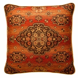 Kensington Rust Pillows & Shams