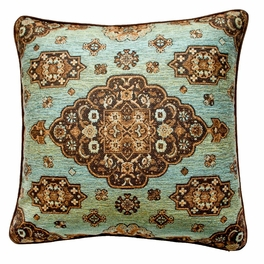 Kensington Teal Pillows & Shams