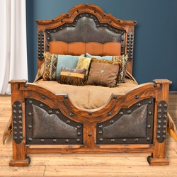Kensington Tooled Leather Bedroom Furniture Collection