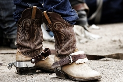 Kicking it with Cowboy Boots!