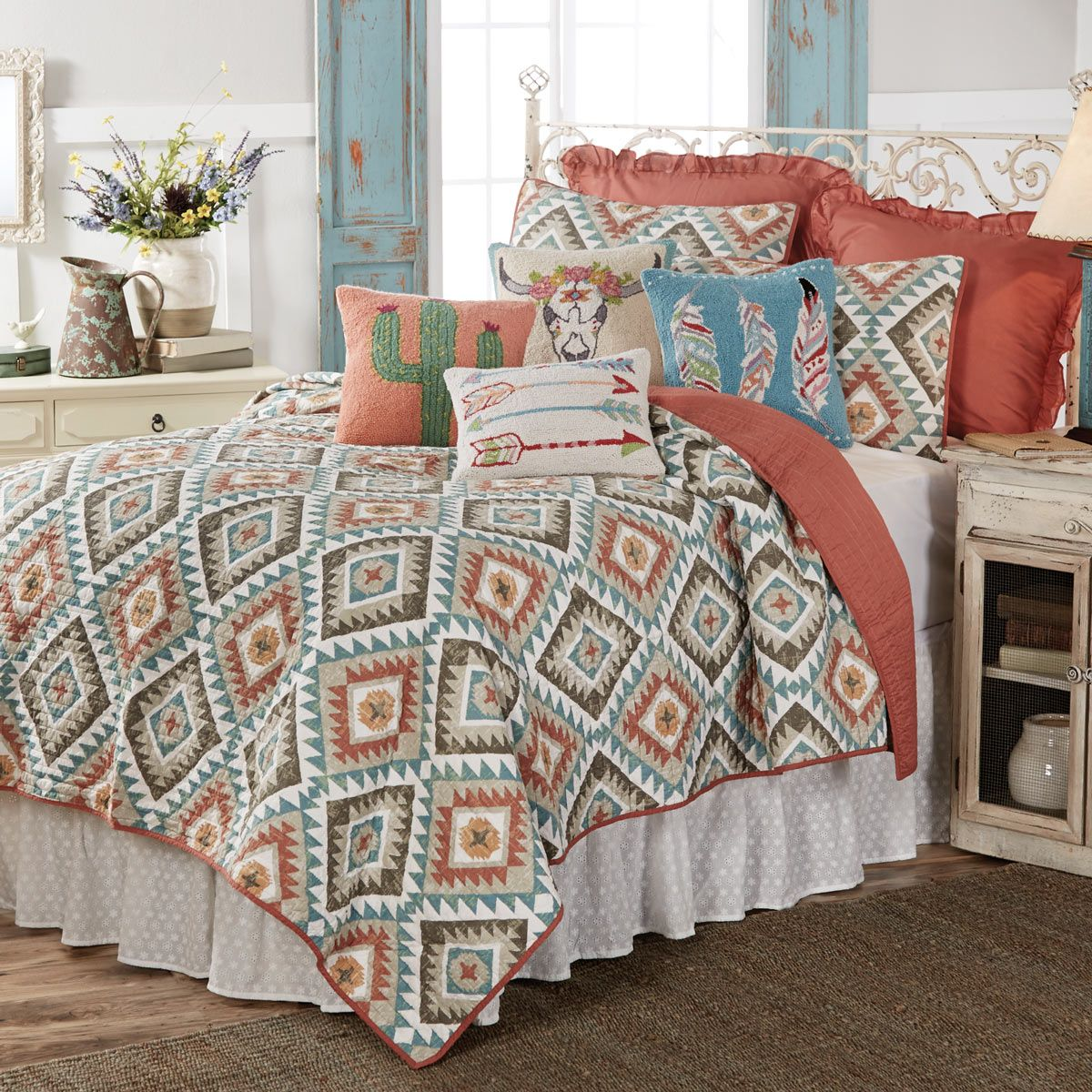 Kilim Sands Quilt - King - CLEARANCE
