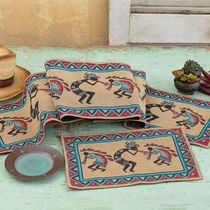 Kokopelli Dance Table Runner