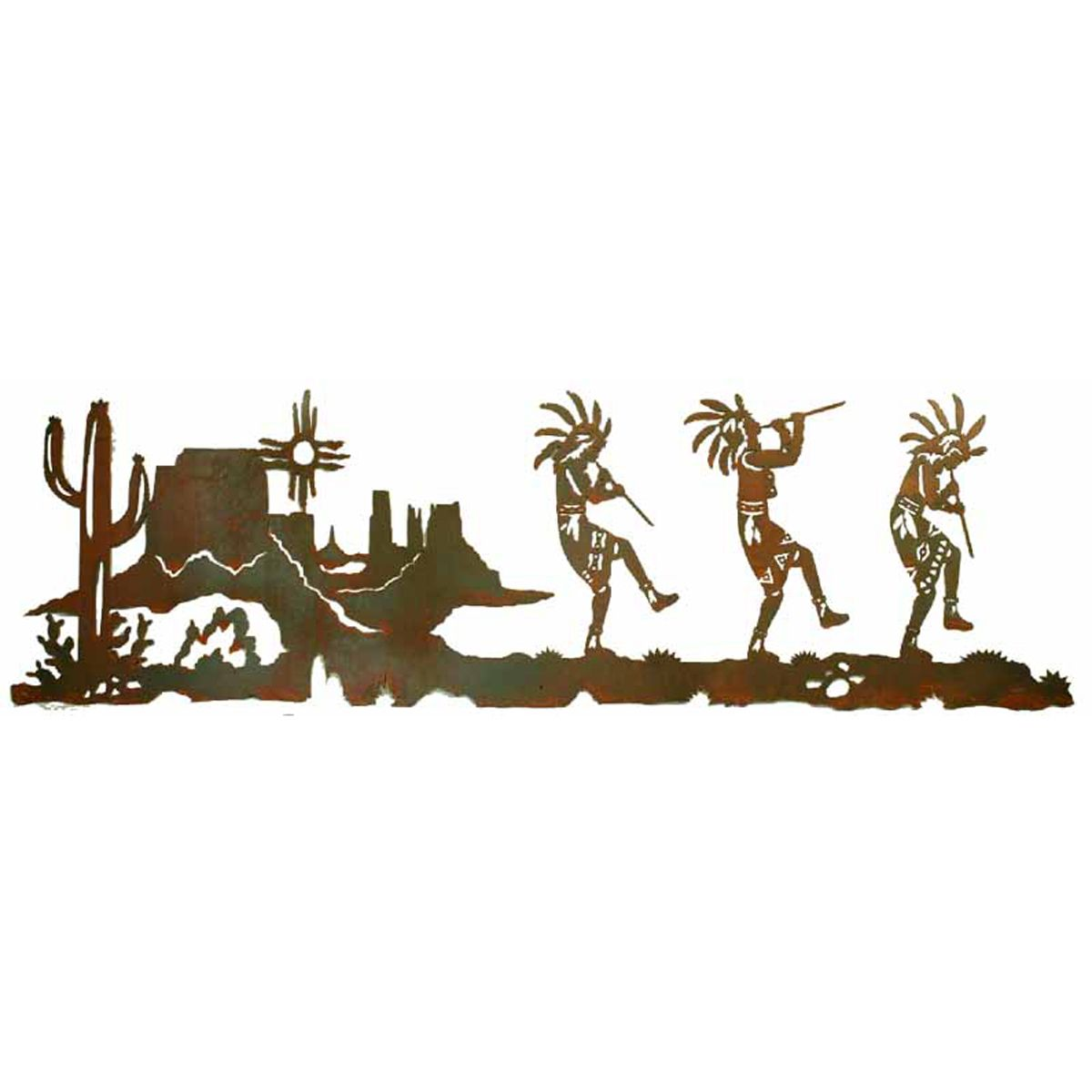Kokopelli Trio Wall Art