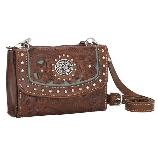 Lady Lace Texas Two Step Strap Wallet