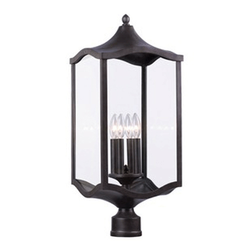 Lakewood Large Post Mount Lamp