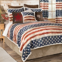 Land of the Free Bed Set - Queen