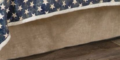 Land of the Free Bedskirt - King