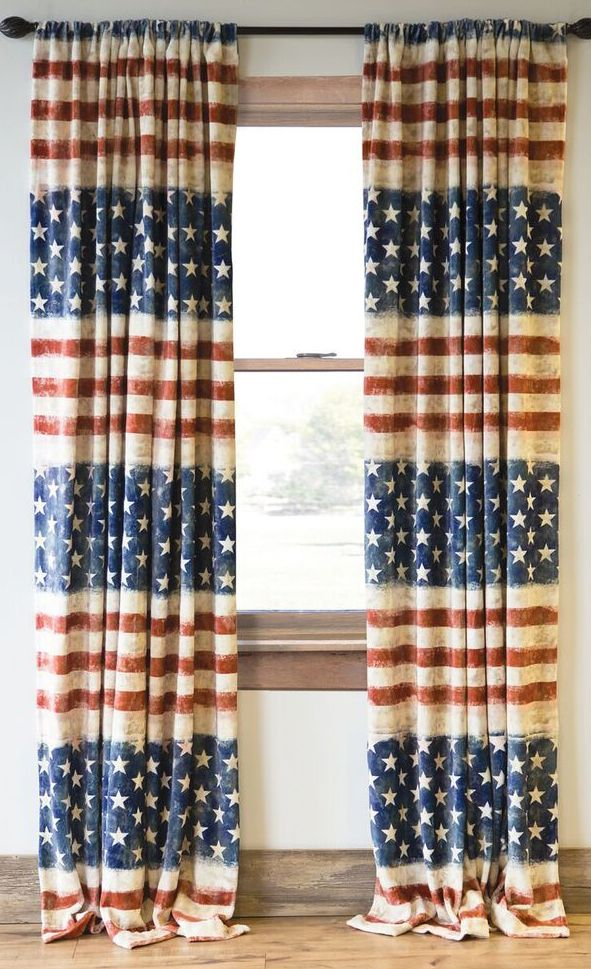 Land of the Free Drapes