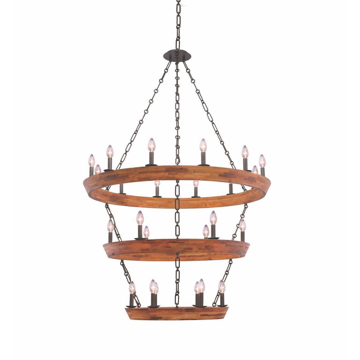 Lansdale 3 Tier Chandelier