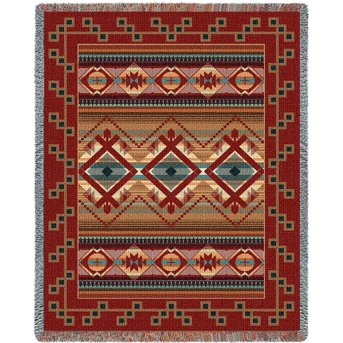 Las Cruces Tapestry Blanket