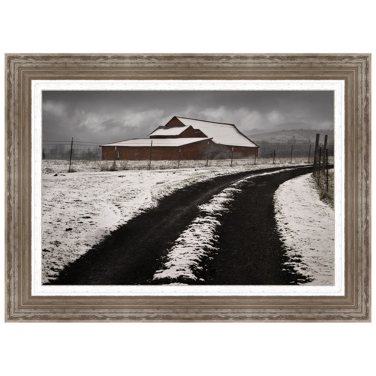 Late Winter Morning Framed Print