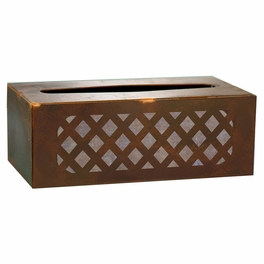 Lattice Tissue Boxes and Waste Basket
