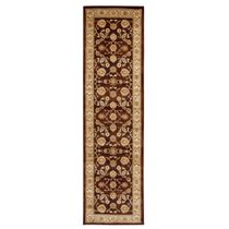 Leadville Gold and Red Floral Rug - 2 x 8