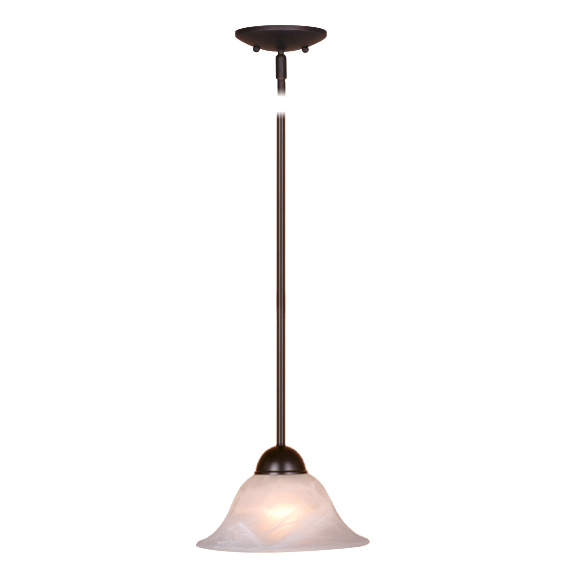 Leonardo Mini Pendant - Oil Burnished Bronze