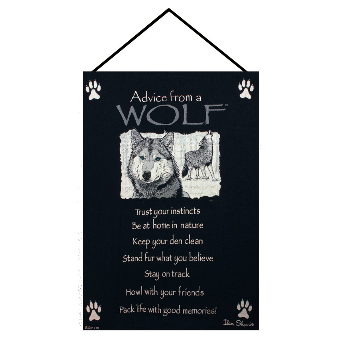 Lessons from a Wolf Wall Tapestry