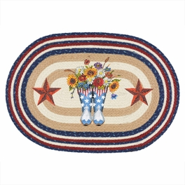 Liberty Boots Braided Rug