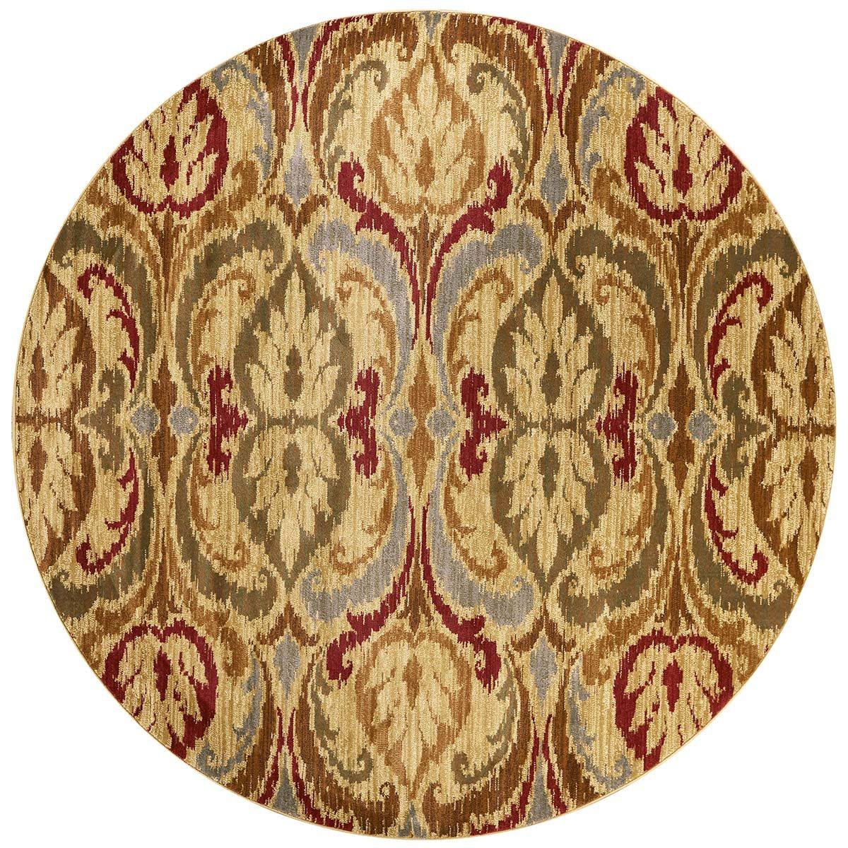 Lifestyles Gold Firenze Rug - 8 Ft Round