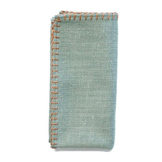 Linosa Turquoise Napkins - Set of 4