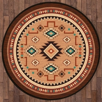 Little River Rug - 8 Ft. Round