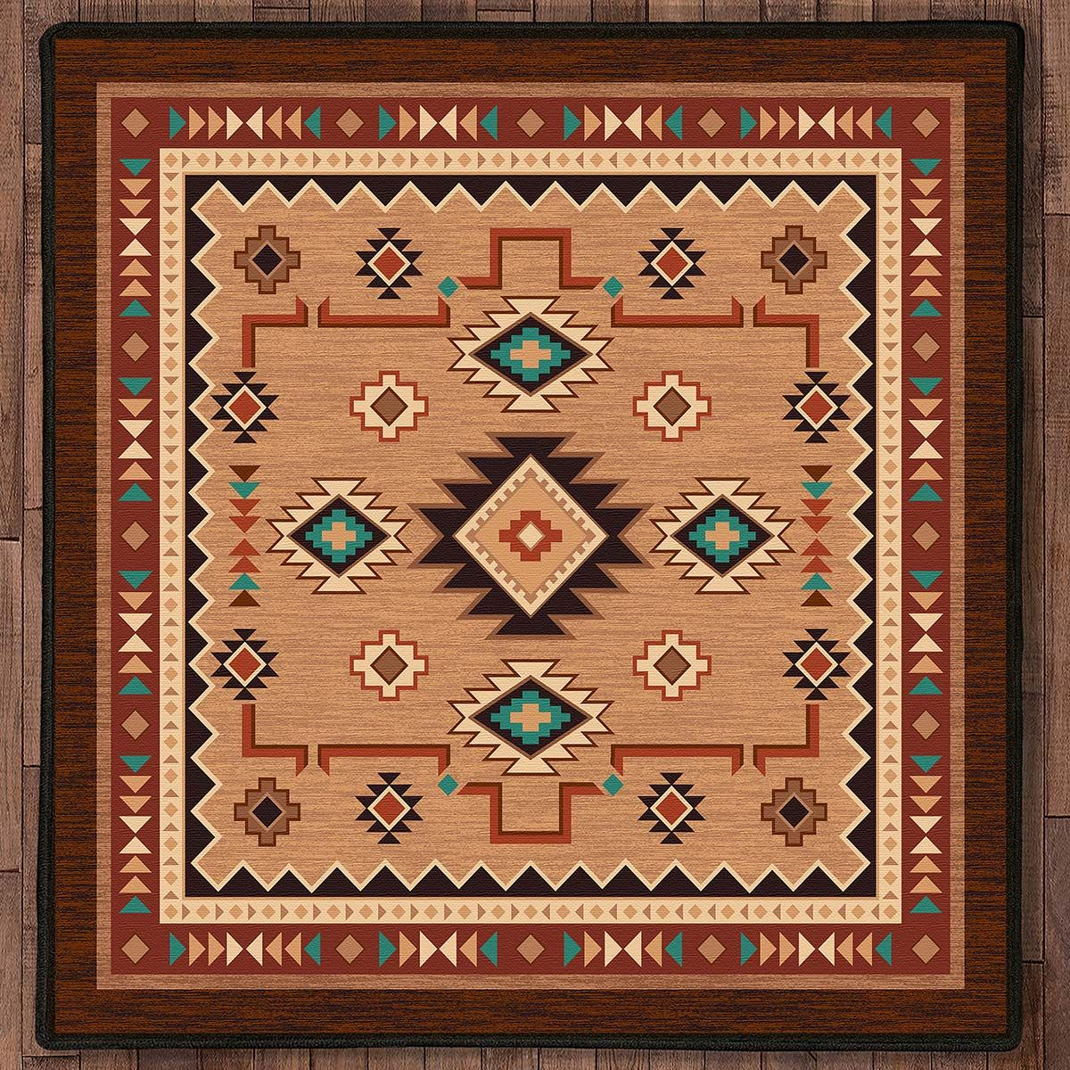 Little River Rug - 8 Ft. Square