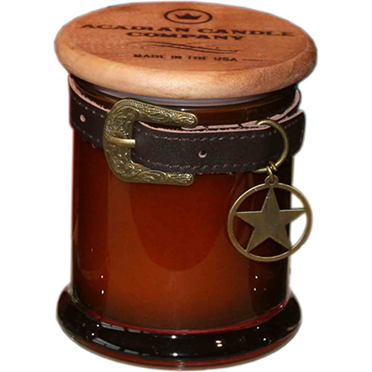 Lone Star Belt Candle - Oakmoss and Tobacco Scent