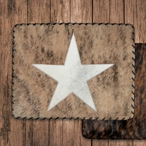 Lone Star Cowhide Placemat