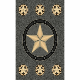 Lone Star Gray Rug Collection