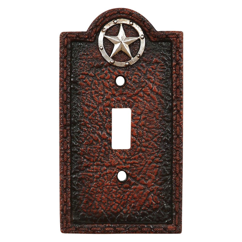 Lone Star Leather Single Switch Plate