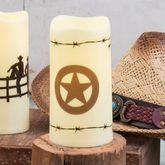 Lone Star LED Candle