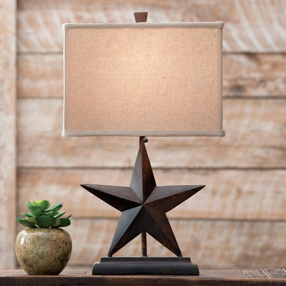 Lone Star Table Lamp