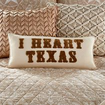 Lone Star Texas Heart Pillow