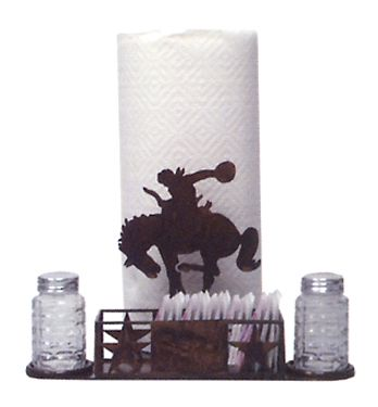 Lonestar Cowboy Table Caddy