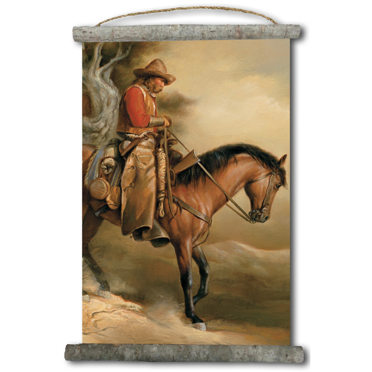 Long Road Home Canvas Vertical Wall Scroll