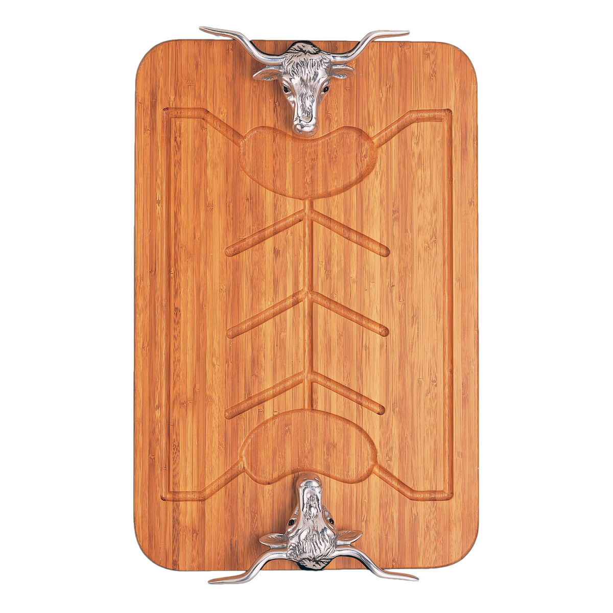 Longhorn Bamboo Carving Board - OUT OF STOCK UNTIL 2/15/2021