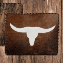 Longhorn Cowhide Placemat - CLEARANCE
