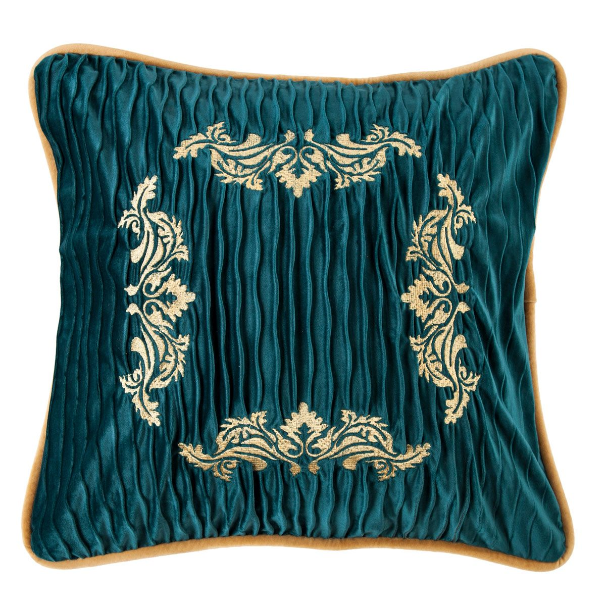 Loretta Velvet Embroidery Pillow